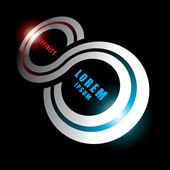 Infinity sign — Stock Vector