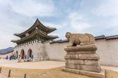 Gyeongbokgung Palace in Seoul , South Korea — Stock Photo