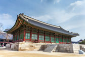 Gyeongbokgung Palace in Seoul , South Korea — Foto de Stock