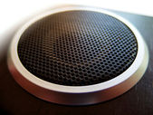 Texture from acoustic woofer — Stock Photo