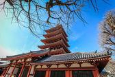 Pagoda in Asakusa temple Tokyo, Japan — Stock Photo