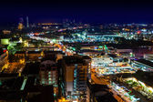 Pattaya City Thailand, Night Light — Stock Photo