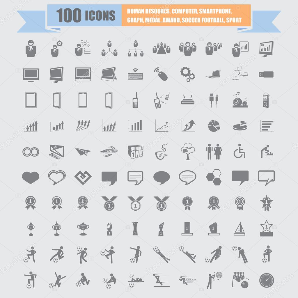 стандартные иконки: