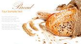 新鲜出炉的传统面包 — 图库照片