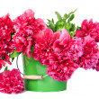 Large bouquet of fresh peonies — Stock Photo #21005067