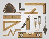 Measuring instruments — Stock Vector