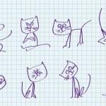 Cute cat — Stock Vector #40325125