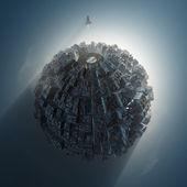Artificial planet — Stock Photo