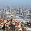 Kiev city at winter — Stock Photo #18215017