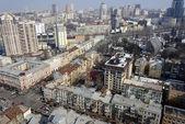 Ciudad de Kiev, vista aérea — Foto de Stock