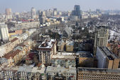 Kiev city, aerial view — Foto Stock