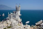 Castle near Yalta, Swallow nest — Stock Photo