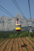 Cableway to Ai-Petri mountain, Crimea, Ukraine — Stock Photo