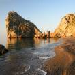 Stock Photo: Rock Diva, Simeiz, Crimea, Ukraine.