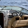 Boat dashboard — Stock Photo