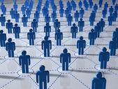 Nätverket koncept — Stockfoto