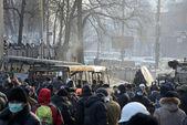 Anti-government protest in Kiev — Stockfoto
