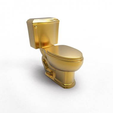 Golden pan