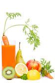 Sok warzywny — Zdjęcie stockowe