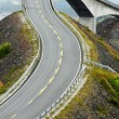 The Atlantic coast road — 图库照片