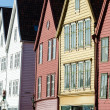 Bryggen in Bergen - Stock Photo