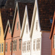 Stock Photo: Bryggen in Bergen