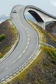 Atlantické pobřeží silnici — Stock fotografie