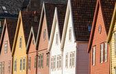 Bryggen in Bergen — Stock Photo