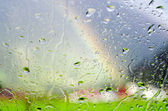 Rain weather — Stockfoto