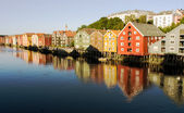 Trondheim Norway — Stockfoto
