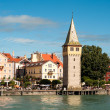 Lindau at lake constance — Foto de Stock