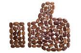 Ik hou van koffie — Stockfoto
