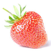 Strawberry isolated before white — Stock Photo