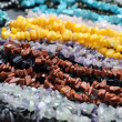 Beads from semiprecious stones — Stock Photo