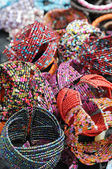 Bracelets from beads — Stock Photo