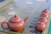 Equipment for Chines tea ceremony. — Foto Stock