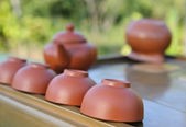Equipment for Chines tea ceremony. — Stock Photo