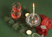 Festive still life — Stock Photo
