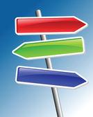 Direction arrows — Stock Vector