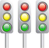 Road light — Stock Vector