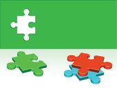 Puzzle vector — Stock Vector