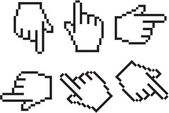 光标的手 — 图库矢量图片