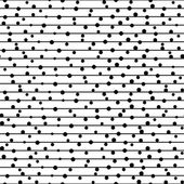Vector seamless pattern. Repeating dotted lines. — Stock Vector
