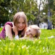 Happy young mother with her daughter — Stock Photo #12432033