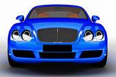 Blue modern car — Stock Photo