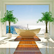 Modern interior of bathroom — Foto Stock #19437099