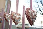 Hearts-Valentine's — Zdjęcie stockowe