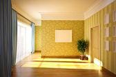 Classic interior — Stock Photo