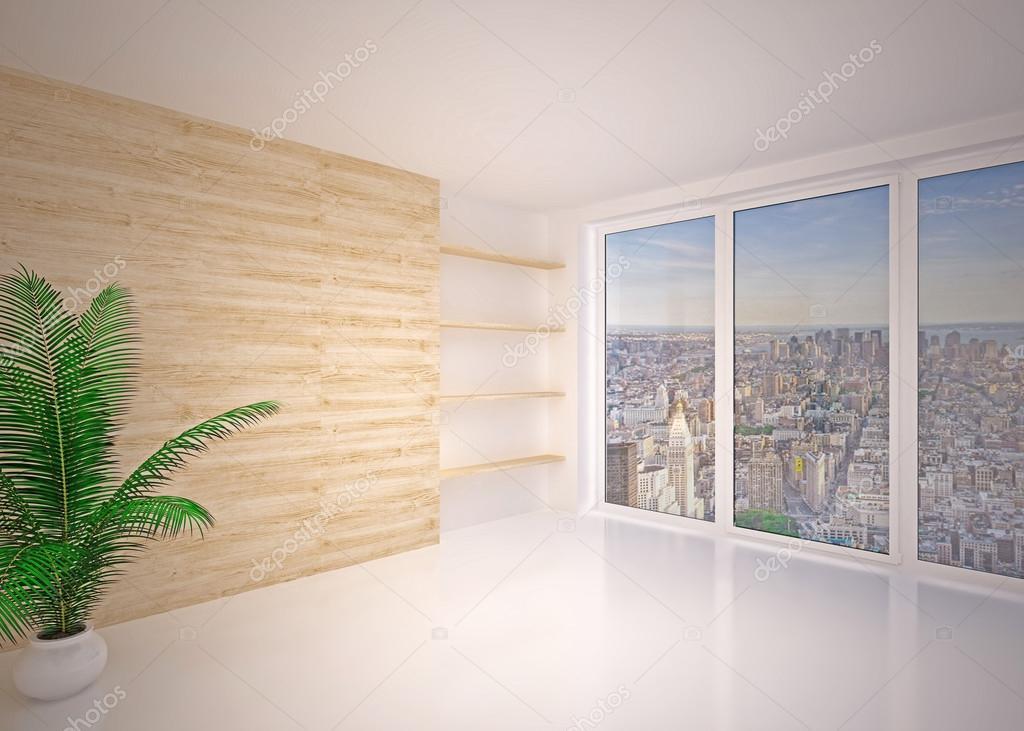 Vacío interior moderno living comedor, salón — Fotos de Stock ...