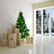Christmas moving house — Stock Photo #31396353